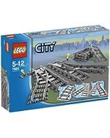 Lego - Jeux de construction - City - Les aiguillages V29