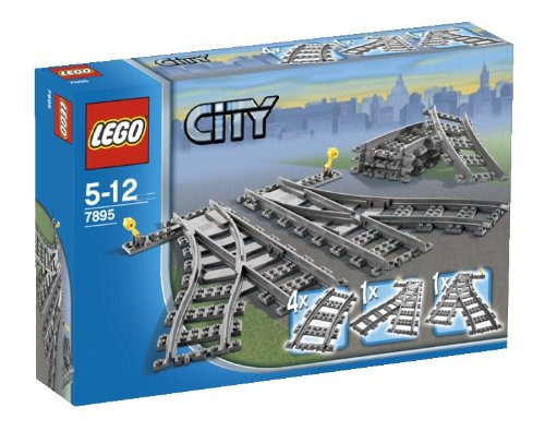 LEGO City 7895: Train Tracks