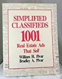 img - for Simplified Classifieds: 1,001 Real Estate Ads That Sell book / textbook / text book