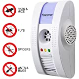 Frostfire Plug In Electromagnetic, UltraSonic and Ionic Pest Repeller with Night light