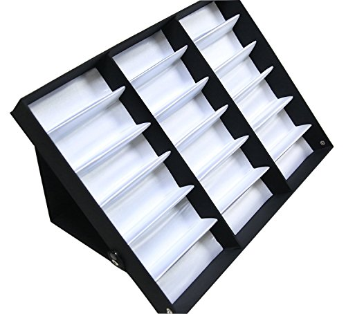 Sodynee 18 Pcs Eyewear Sunglass Jewelry Watches Display Storage Case Stand (Glasses Display compare prices)