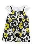 TheTickleToe Kids Girls Cotton Casual Dailywear Frock Dress 1-2 years