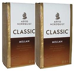 Arvid Nordquist Coffee Classic Med Roast 2 Packs X 17.6oz