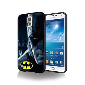 Batman Movie BT06 Case Cover black Silicone for Samsung Galaxy S5 @UTMSHOP