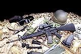 【WAスーパーリアルガン】 WA フルメタルカスタム M16米海兵隊モデル
