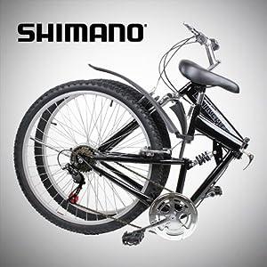 "Amazon.com : New 26"" Folding Mountain Bike Foldable"