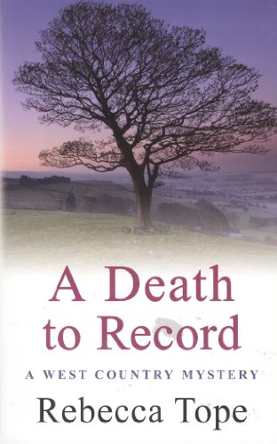 A Death to Record (West Country Mysteries)