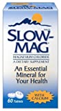 Slow-Mag Magnesium Chloride Dietary Supplement with Calcium, 60 Count (Pack of 2)