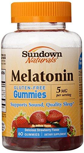 (2 pack) Sundown mélatonine Gummies, 60 comte 5mg