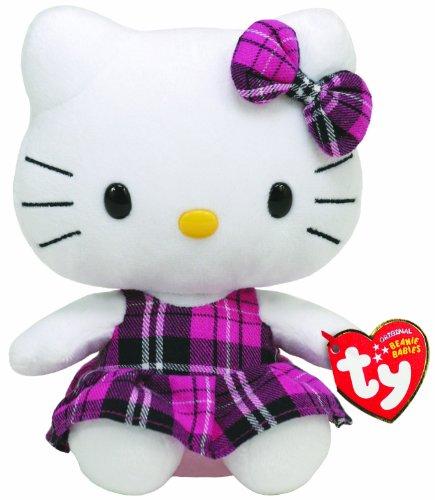 Imagen de Ty Beanie Baby Hello Kitty Tartan