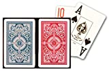 KEM Arrow Red and Blue Bridge Size Jumbo Index Playing Cards