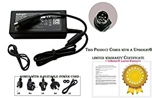 UpBright® New 4-Pin DIN AC / DC Adapter For NUMARK HDMIX HD MIX PRO DJ CD Mixer / System Power Supply Cord Charger Mains PSU (with one 12V output and 4-Pin connector. NOT two 12V output and 4 Hole connector. Thanks.) (Note: This adapter has 4-Pin Male Co