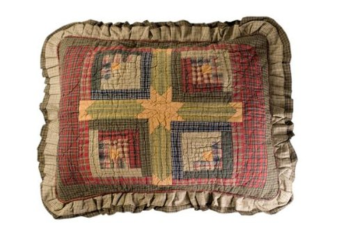 Tea Cabin Standard Pillow Sham