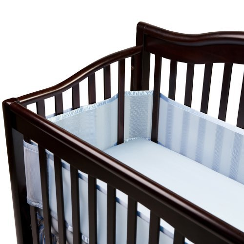Breathablebaby Breathable Mesh Crib Liner, Blue Color: Blue Newborn, Kid, Child, Childern, Infant, Baby