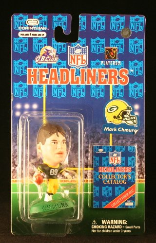 MARK CHMURA / GREEN BAY PACKERS * 3 INCH * 1997 NFL Headliners Football Collector Figure
