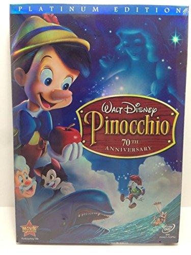 Pinocchio (DVD, 2009, 2-Disc Set, 70th Anniversary Platinum Edition)