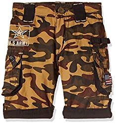 Seals Boys' Shorts (AM8123_1_KHAKI_8)