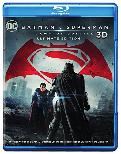 Blu-ray 3D : Batman V Superman: Dawn Of Justice (2 Discos)