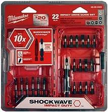 Milwaukee 48-32-4404 22-Piece Shockwave Drive Guide Set