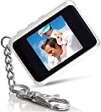 Coby DP151WHT 1.5-Inch Digital TFT LCD Photo Keychain, White