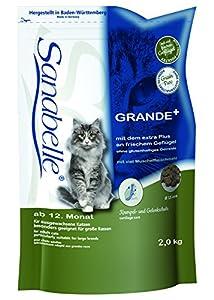Sanabelle Grande Katzenfutter, 1er Pack (1 x 2 kg)