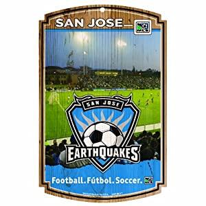MLS San Jose Earthquakes 11-by-17 Wood Sign by WinCraft