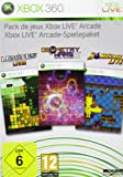 Pack de jeux Xbox Live Arcade (Lumines, Geometry Wars, Bomberman Live + MS. Pac-Man + 48 h X-LiveGoldabo) multilingual [import allemand]