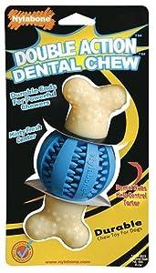 Nylabone Double Action Round Ball and Bone Dental Chew