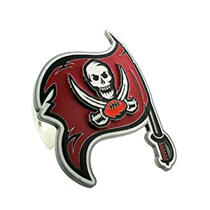 Tampa Bay Buccaneers Large Logo-Only Hitch Cover - NFL Football Fan Shop Sports Team... by Siski You