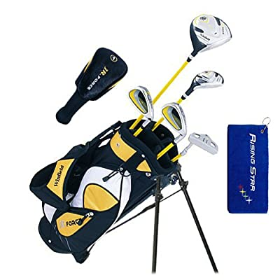Winfield Junior Force Kids Golf Clubs Set / Free Golf Towel / Ages 5-8 Yellow