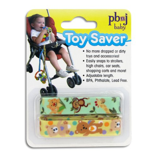 Toy Saver, Jungle/Bear 2-Pack by PBnJ baby
