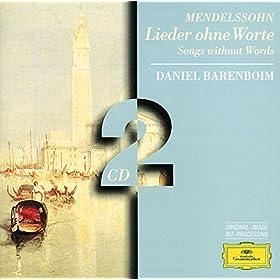 Mendelssohn: Lieder ohne Worte, Op.85 - No. 5. Allegretto in A