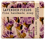 Saltspring Soapworks All Natural Botanical Soap Bar, Lavender Pure, 5 Ounce