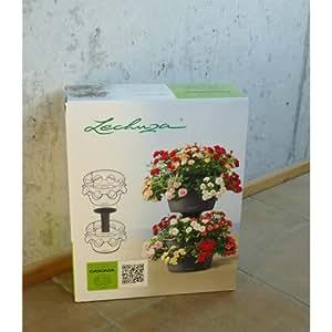 Lechuza Cascada Pot à plantes empilable Extension 2 pièces