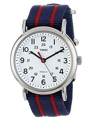 Timex Unisex T2N747 Weekender Stripe