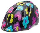Giro Kid's Rascal Bike Helmet (Black/Hot Pink Fab Flowers, Universal Child Medium/Large)