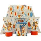 I Love Love Cheap And Chic By Moschino For Women 3 Piece Set Includes: 0.16 Oz Eau De Toilette + 0.8 Oz Bath & Shower Gel + 0.8 Oz Body Lotion