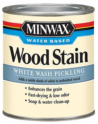 Minwax 618604444 Minwax White Wash Pickling Stain-W/B PICKLING WOOD STAIN (Minwax White Wash Pickling Stain compare prices)