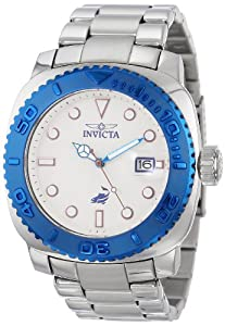 Invicta Men's 14477 Pro Diver Automatic White Dial Stainless Steel Watch