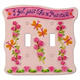 Amerelle Disney Princess Banner 2 Toggle Wall Plate