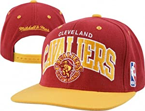 Cleveland Cavaliers Mitchell & Ness Hardwood Classics Team Arch 2-Tone Snapback... by Mitchell & Ness