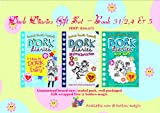 Rachel Renee Russell DORK DIARIES International Bestseller Gift Pack - Set includes Book 3 1/2 4 & 5 : 1. Dork Diaries 3 1/2 : How To Dork Your Diary 2. Skating Sensation 3. Dear Dork Rachel Renee Russell Dork Diaries Series (RRP: £20.97)