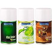 Airance Automatic Room Freshner Air Freshener Spray Perfume Refill - Khus (Vetiver), Refreshing Lime & Oud Wood...