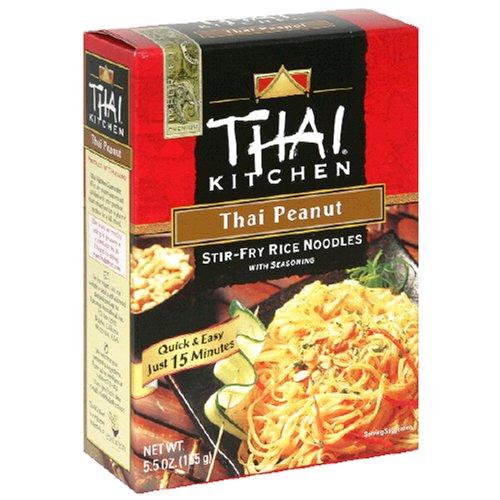 Thai Kitchen Thai Peanut Stir Fry Noodles, 5.5-Ounce Unit (Pack of 12)