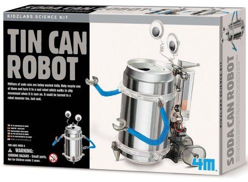 4M Tin Can Robot Kit Review 1