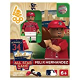 Felix Hernandez American League Pitcher #34 All-Star Game OYO Minifigure