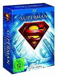 Superman - Die Spielfilm Collection 1978-2006 auf 5 Blu-ray Discs mit vielen Stunden Bonusmaterial für 20,97 Euro inkl. Versand