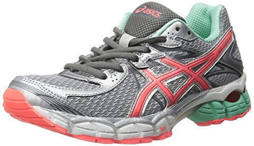 ASICS Women's GEL Flux 2 Running Shoe, Lightning/Hot Coral/B
