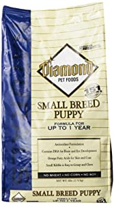 Diamond Naturals Dry Food for Puppy, Small Breed Puppy Formula, 6 Pound Bag