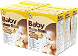Hot-Kid Baby Mum-Mum Banana Flavor Rice Biscuit,  24-pieces, 1.76 oz,  (Pack of 6)